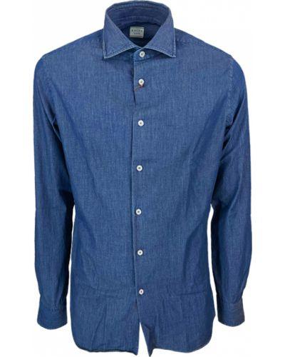 Niebieskie mom jeans Xacus