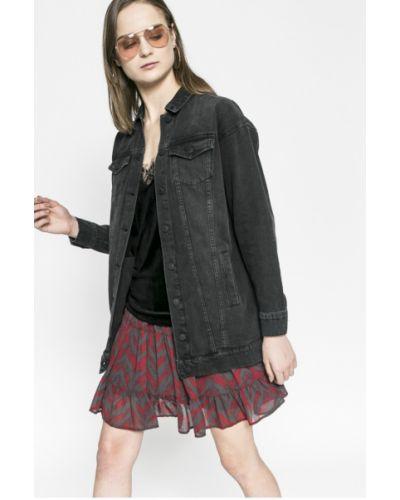 Джинсовая куртка на пуговицах облегченная Vero Moda