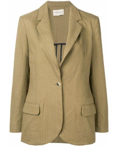 Однобортный удлиненный пиджак на пуговицах Holland & Holland