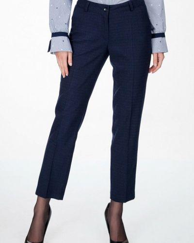 Классические брюки весенний синие Femme