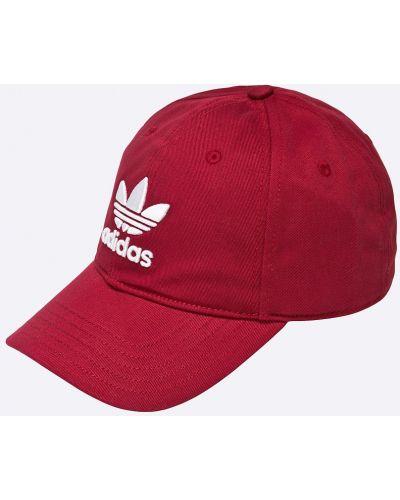 Шапка хлопковая бордовый Adidas Originals