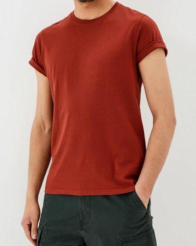 Коричневая футболка Sela