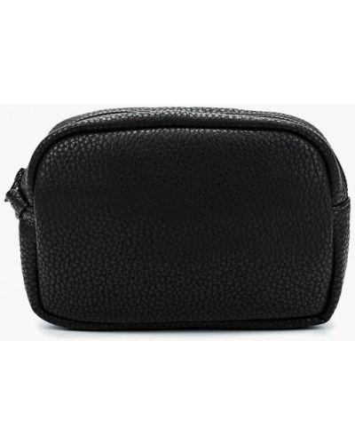 Кожаная сумка - черная Kawaii Factory