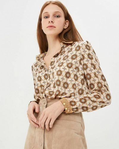 Блузка с длинным рукавом весенний Арт-Деко