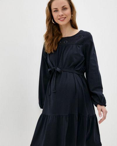 Черное платье летнее Mama.licious
