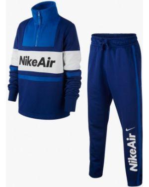 Спортивный костюм синий костюмный Nike