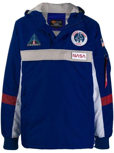 Куртка с манжетами с логотипом Alpha Industries