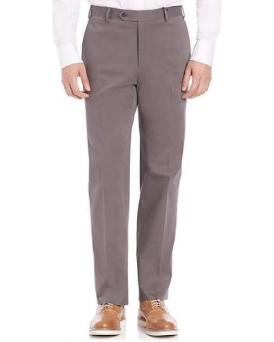Ватные шерстяные брюки с карманами Zanella