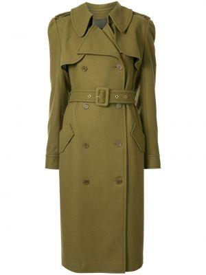 Długi płaszcz z kieszeniami wełniany Karen Walker