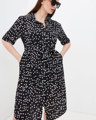 Повседневное черное платье Winzor