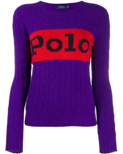 Фиолетовое поло Polo Ralph Lauren