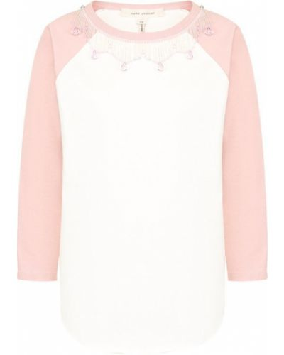 Розовая футболка Marc Jacobs