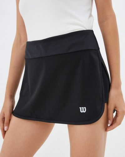 Юбка шорты - черная Wilson