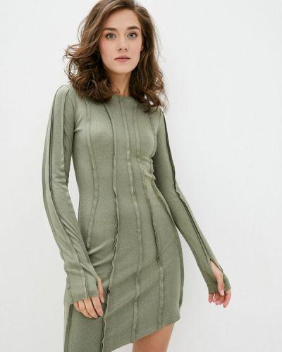 Прямое платье - хаки Ricamare