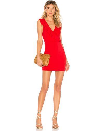 Włókienniczy sukienka mini rozciągać Superdown