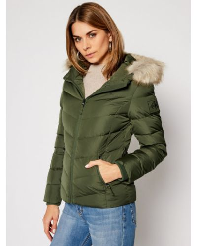 Zielona kurtka Calvin Klein Jeans