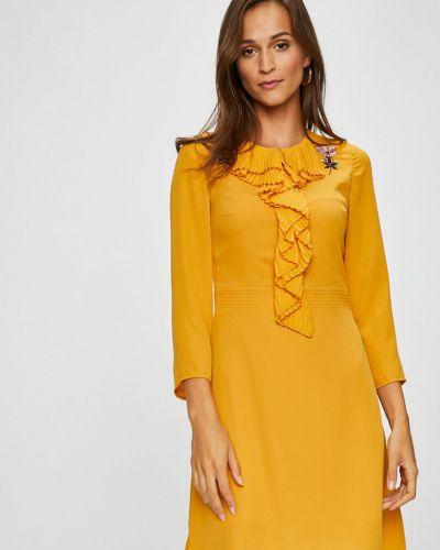 Платье мини на молнии расклешенное Silvian Heach