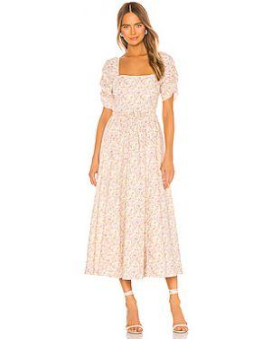 Платье миди на пуговицах на молнии Free People