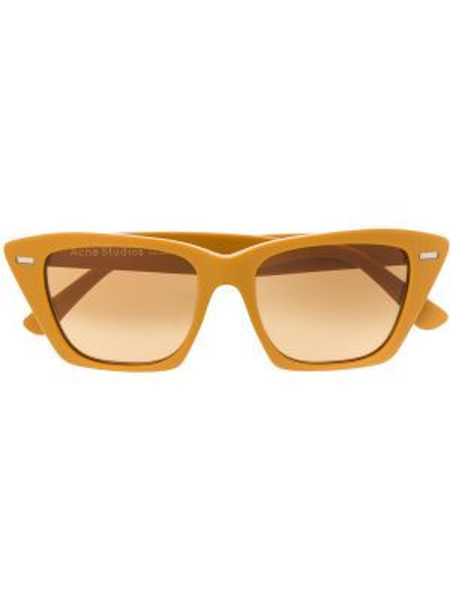 Okulary - żółte Acne Studios