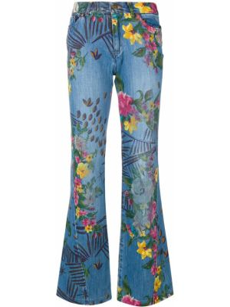 Расклешенные брюки винтажные с поясом на молнии Kenzo Pre-owned