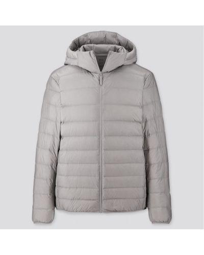 Куртка с капюшоном - серая Uniqlo