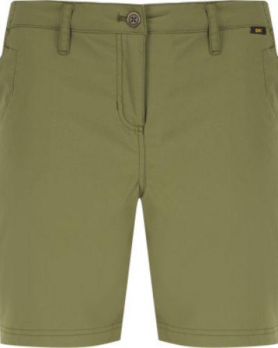 Зеленые спортивные шорты Jack Wolfskin