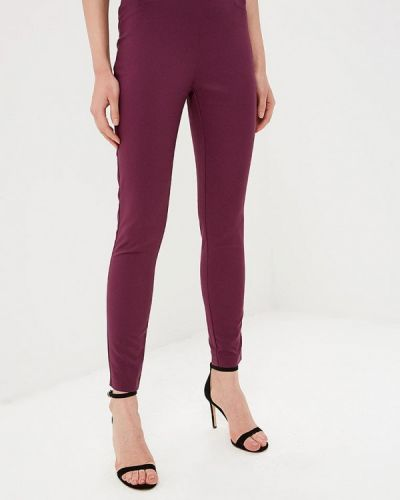 Фиолетовые брюки повседневные Love Republic