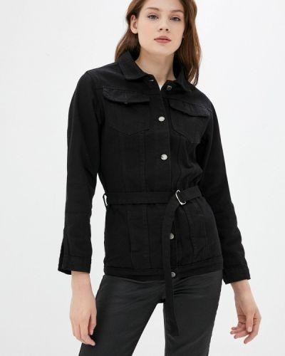 Черная джинсовая куртка Haily's