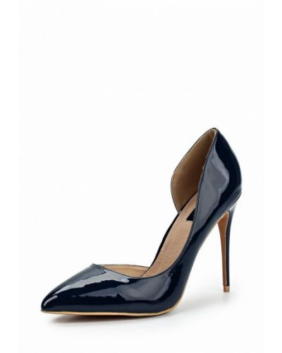 Кожаные туфли с открытыми боками на каблуке Lost Ink.