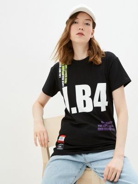Черное футбольное поло J.b4