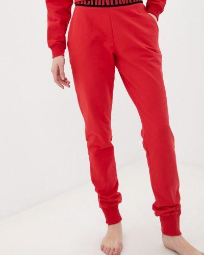 Спортивные брюки - красные Moschino Underwear