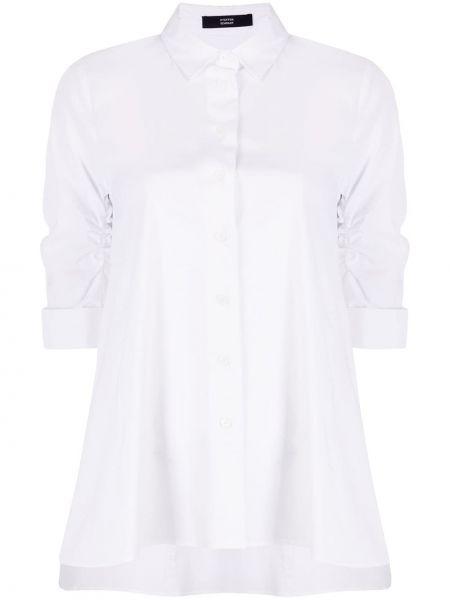 Блузка оверсайз - белая Steffen Schraut