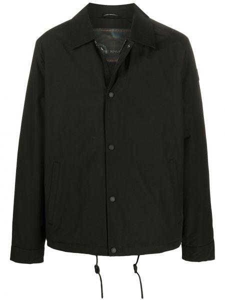 Длинная куртка - черная Moose Knuckles