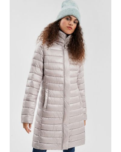 Длинная куртка - бежевая O'stin