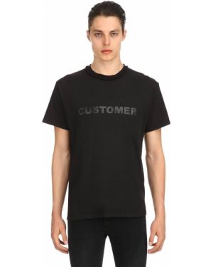 Czarny t-shirt bawełniany Mr.completely