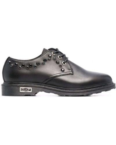 Кожаные туфли - черные Cult