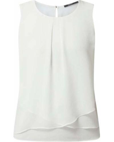 Biały top z szyfonu Esprit Collection