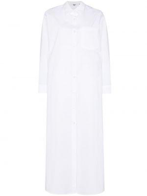 Белое платье классическое Frankie Shop