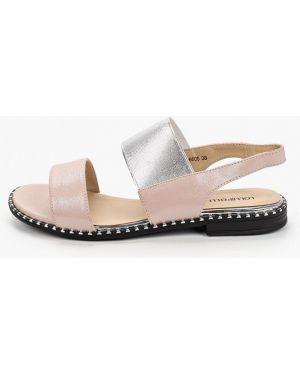 Кожаные розовые сандалии Lolli L Polli