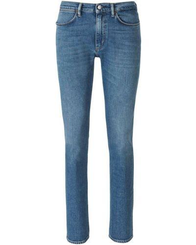 Niebieskie mom jeans Acne Studios