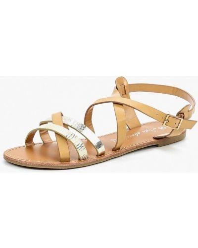 Бежевые сандалии Style Shoes
