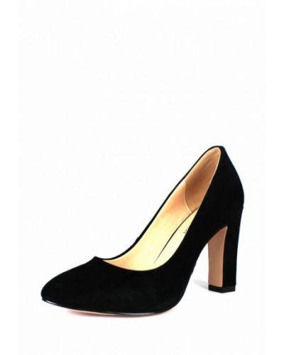 Туфли на каблуке замшевые осенние Blizzarini