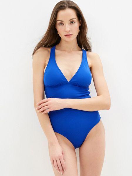 Слитный купальник синий Phax