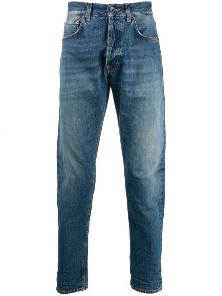 Niebieskie jeansy z haftem bawełniane Prps