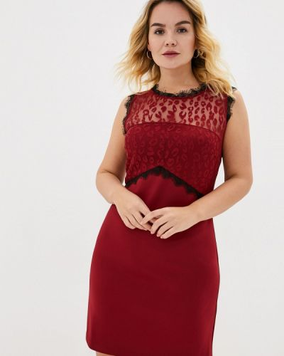 Бордовое вечернее платье Keyra