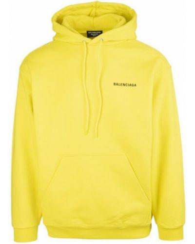 Żółta bluza Balenciaga