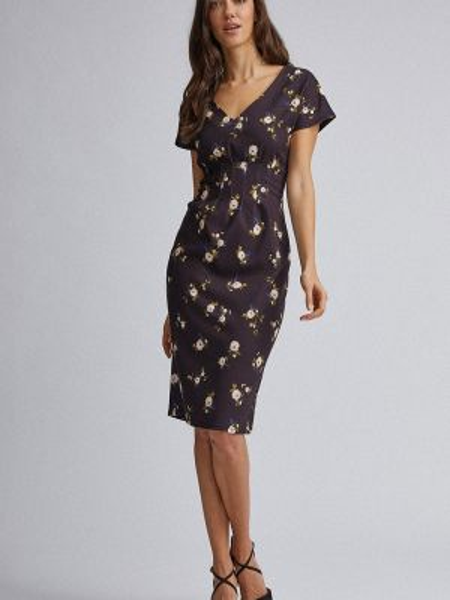 Коричневое платье Dorothy Perkins