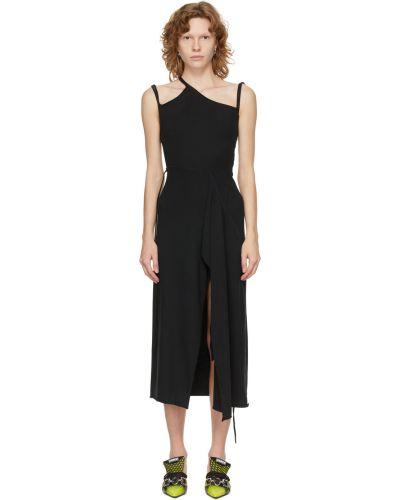 Czarna sukienka bawełniana Ottolinger