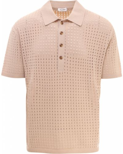 Beżowa koszulka Nanushka