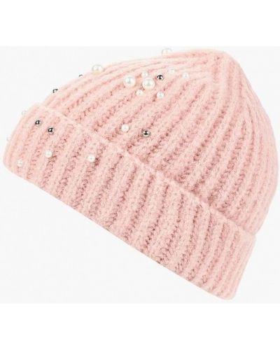 Розовая шапка осенняя Pieces
